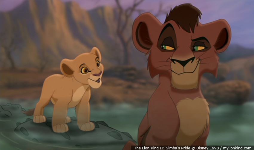 Simba and vitani mating kiara and kovu